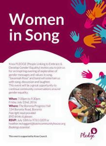 WOMEN IN SONG