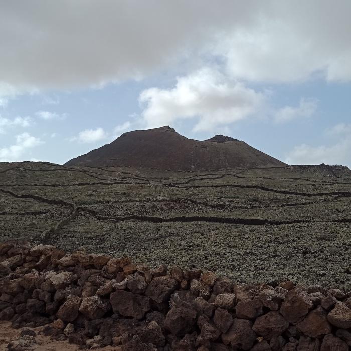 Montaña Arena near La Oliva Fuerteventura