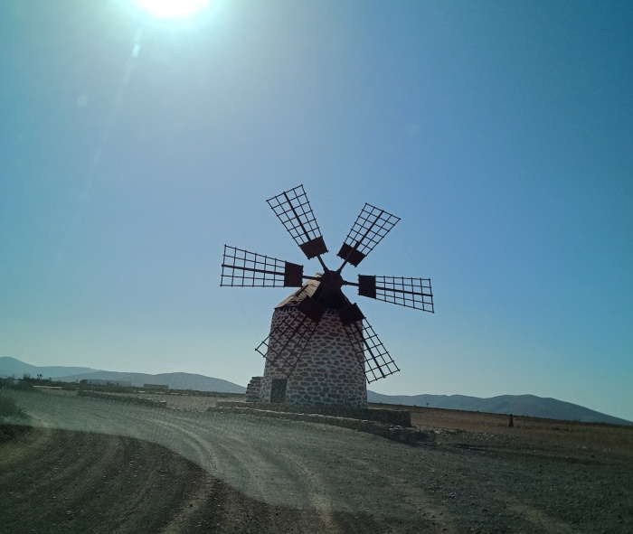 Windmill Tefia Fuerteventura
