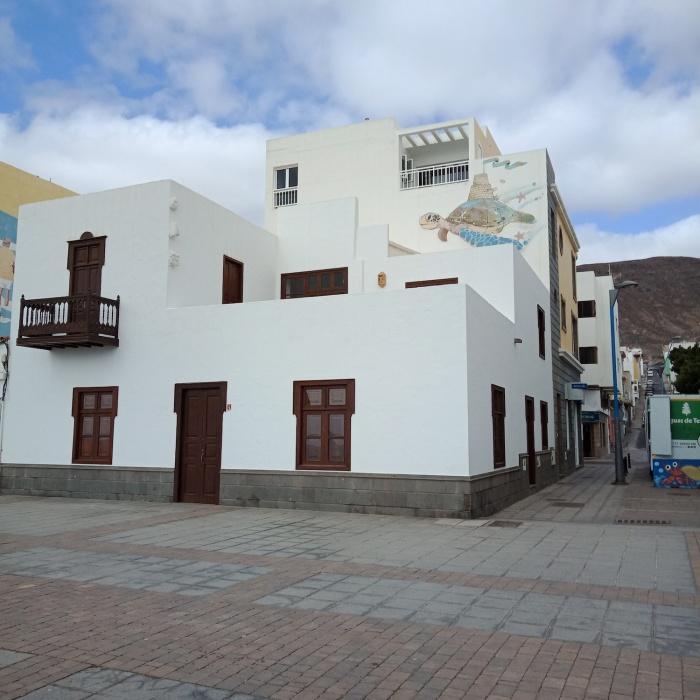Canarian house Gran Tarajal