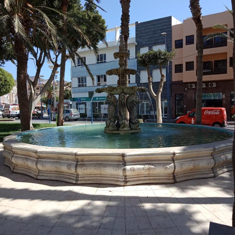 Seahorse Fountain Gran Tarajal